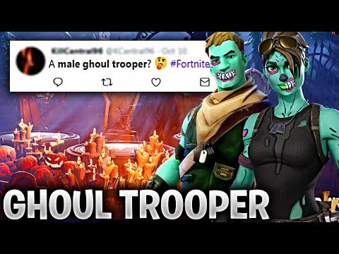 NEW MALE Ghoul Trooper & FEMALE Ghoul Trooper Skins in Fortnite (WILL THEY COME BACK IN HALLOWEEN?)