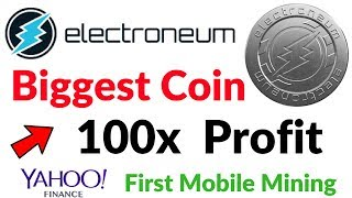 Electroneum Coin Next Bitcoin CryptoCurrency Pre-Launching Offer Invest 100x Profit Chance Hindi/Urd