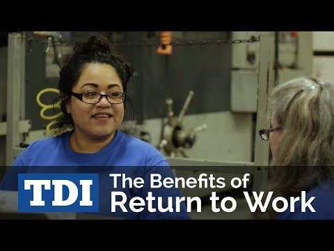 The Benefits Of Return To Work   Division Of Workers' Compensation