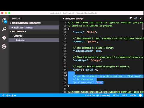 Build Python on Visual Studio Code - YouTube