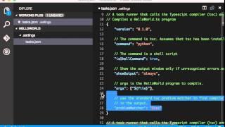 Build Python on Visual Studio Code