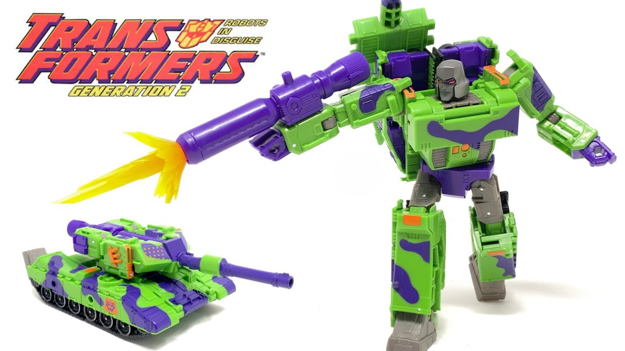 Transformers G2 MEGATRON Generations Selects In-Hand Review by PrimeVsPrime