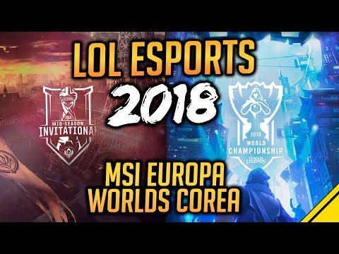 WORLDS en COREA y MSI en EUROPA - LOL ESPORTS 2018   Noticias Jota League Of Legends