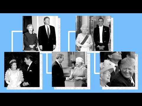 The Queen's most memorable meetings with US presidents