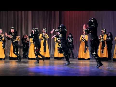 Отчетный концерт хореографического коллектива «Иверия», часть 2.