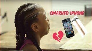 Destroyed IPhone Prank on Daughter... (SUPER EMOTIONAL)
