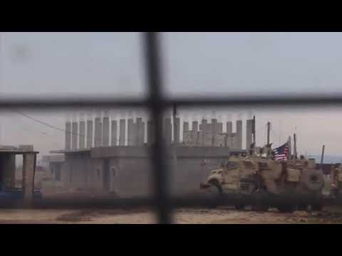 Реакция российских военных на обстрел американцами сирийцев