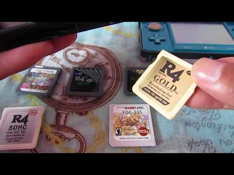 R4i SDHC 3DS RTS, 3DS R4 card for DS games