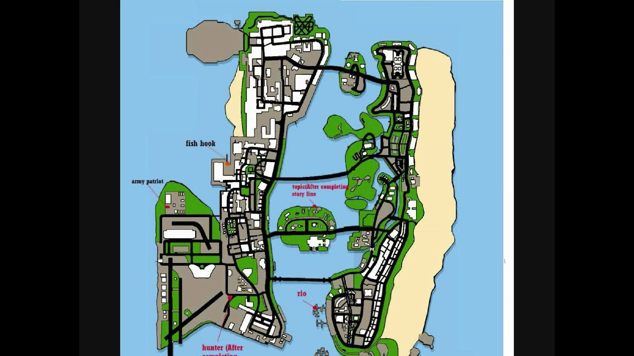 Gta Vice City Stories Car Locations