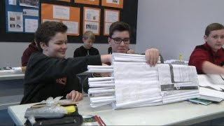 Brückenbauwettbewerb des Rotary Club Dülmen