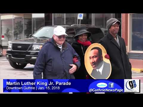 Dr. Martin Luther King Jr. Parade from downtown Guthrie
