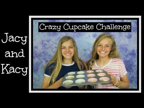 Crazy Cupcake Challenge ~ Jacy and Kacy