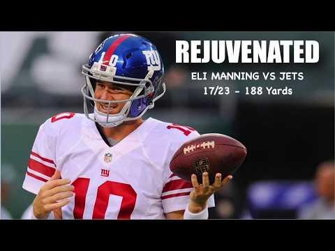 Every Eli Manning Pass Attempt VS Jets (Preseason Week 3)