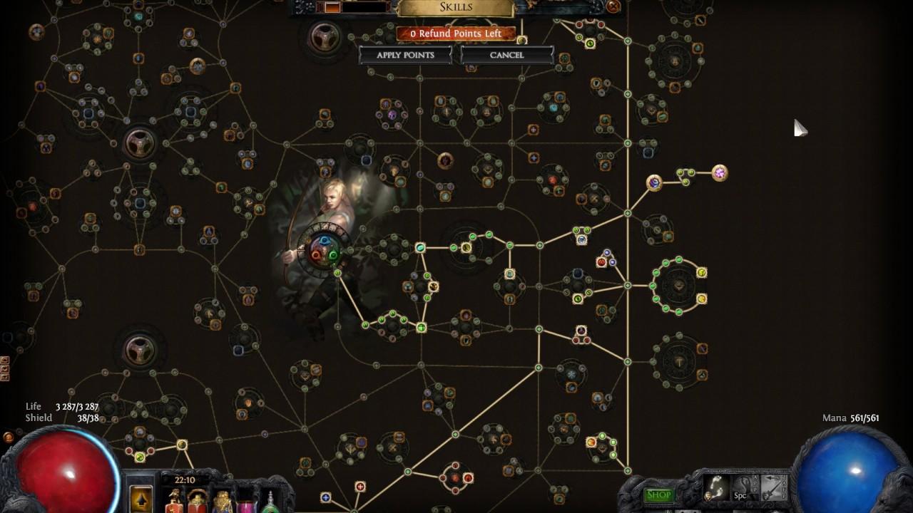 Path Of Exile   Tornado Shot Build
