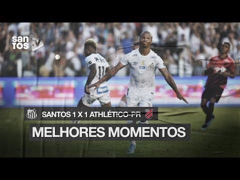 SANTOS 1 x 1 ATHLÉTICO-PR | MELHORES MOMENTOS | Brasileirão (08/09/19)