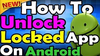 Unlock app without password