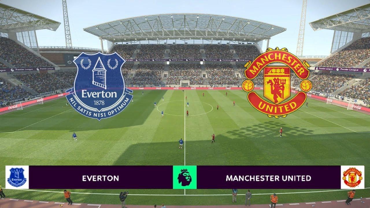 EVERTON vs MANCHESTER UNITED | Premier League 2019/20 ...
