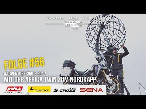 Motorradreise.TV Folge #56 – Nordkapp mit der Africa Twin Adventure Roads 2017