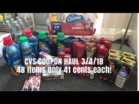 CVS Coupon Haul for Deals 3/4 to 3/10/18...