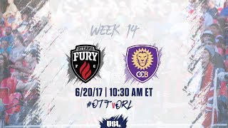 Ottawa Fury vs Orlando City II full match