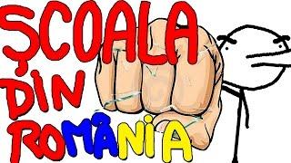 DE CE SCOALA IN ROMANIA E DE CACAT | Parodie Animata