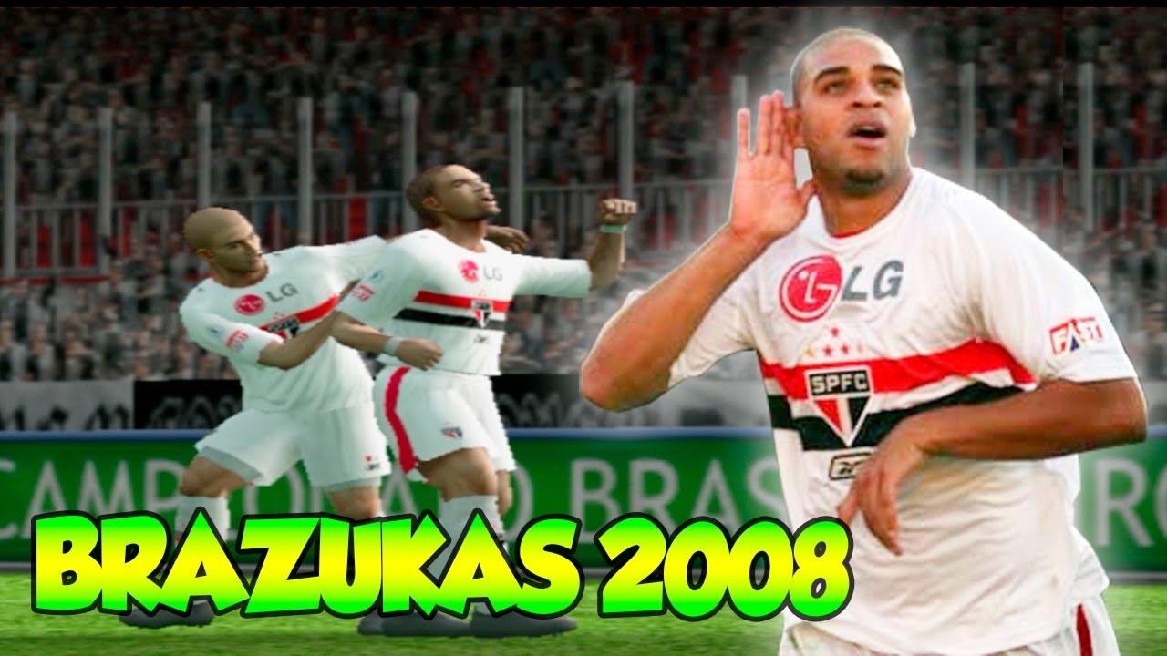 pes 2008 brazukas pc