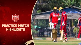 Practice Match Highlights | Punjab Kings | IPL 202...