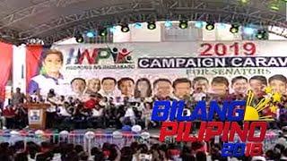 Labintatlong senatorial candidates, bitbit ng Hugpong ng Pagbabago sa kampanya nito sa Pampanga