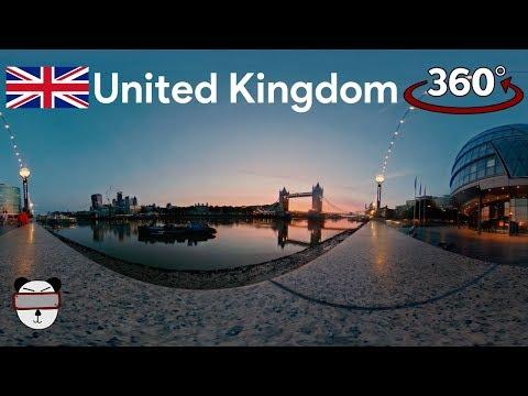🇬🇧360° Tower Bridge Sunrise | London, United Kingdom