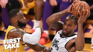 Did the Lakers blow it against the Clippers on Christmas Day? | First Take