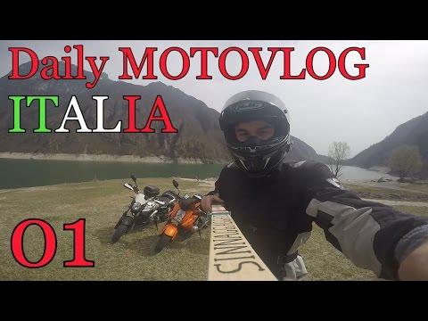 Daily MOTOVLOG ITALIA #01 - Un giorno in moto