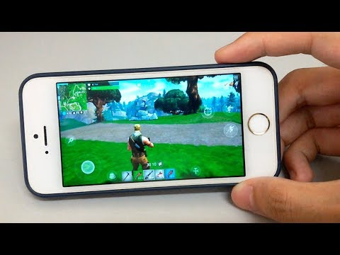 Fortnite On IPhone 5s