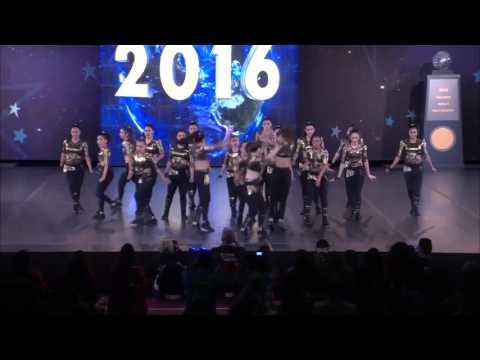Union Dance Rancaqua (Chile) - UDAR [2016 Large Senior Hip Hop Semis]