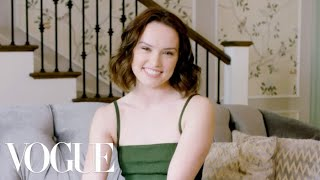 73 Questions With Daisy Ridley | Vogue thumbnail