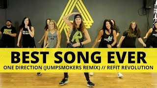 """""""Best Song Ever"""" (Jumpsmokers remix)    One Direction    Fitness Choreography    REFIT®️ Revolution"""
