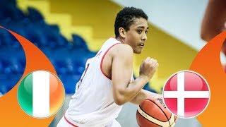 Ireland v Denmark - CL 9-16 - Full Game - FIBA U16 European Championship Division B 2018 thumbnail