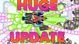 Huge Battles Update Livestream + 350,000 Celebration Chris Gets Drunk!