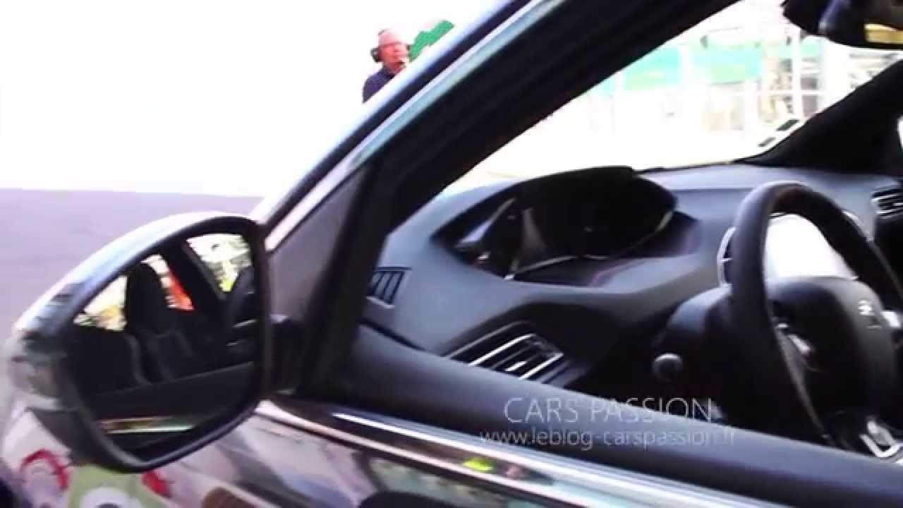 Peugeot 308 GTI 2016 intérieur sport - YouTube