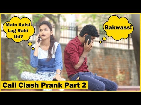 Epic – Call Clash Prank on Cute Girls Part 2 | The HunGama Films