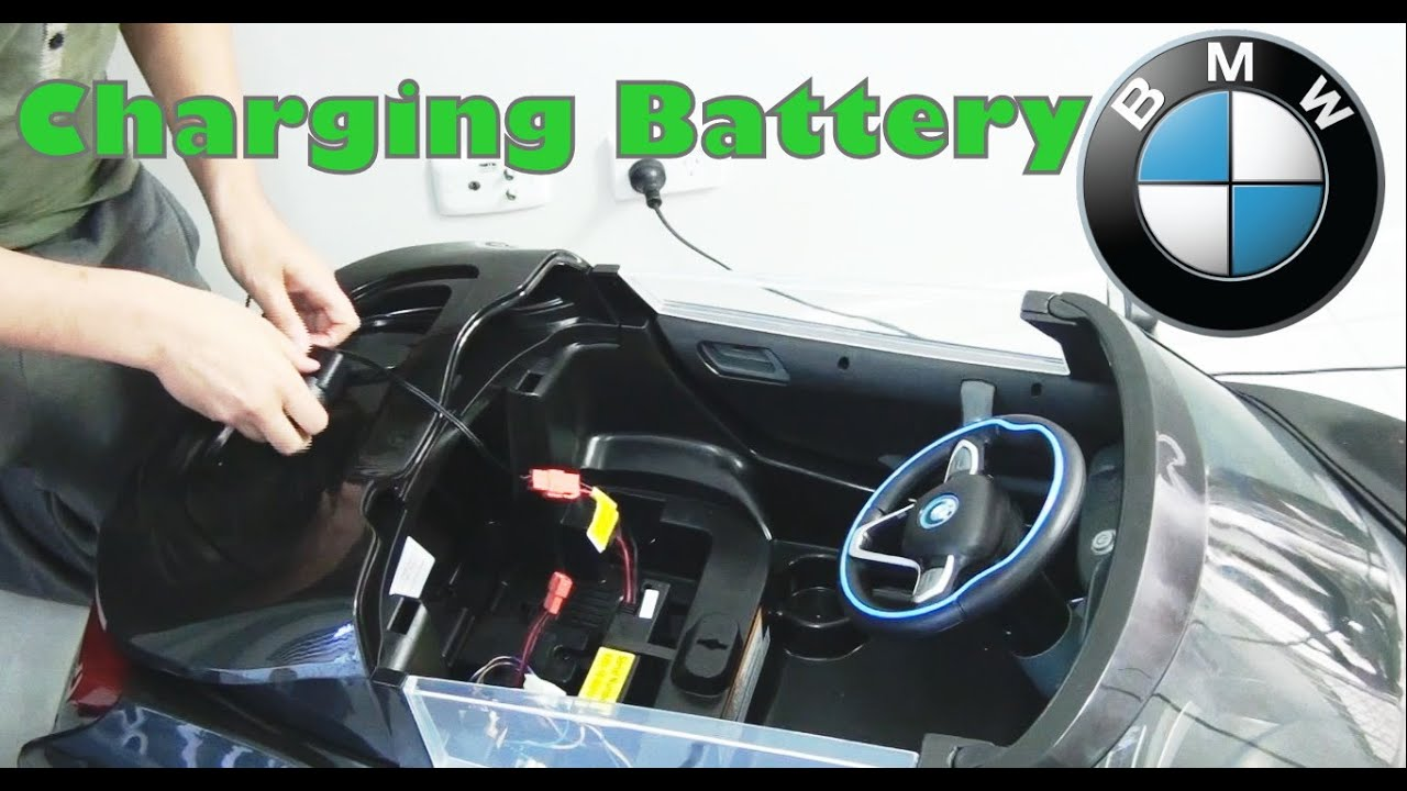 Bmw I8 Spyder Ride On Car How To Charge The Battery