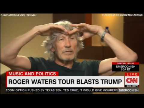 Michael Smerconish- Interview with Roger Waters on CNN July 15, 2017
