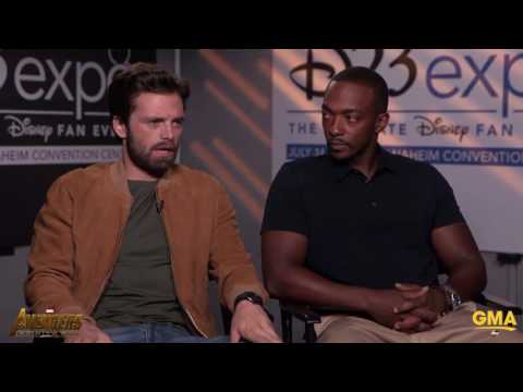 Thumbnail: Sebastian Stan & Anthony Mackie Tease a 30-Minute, Or Longer, Battle Scene In Avengers Infinity War