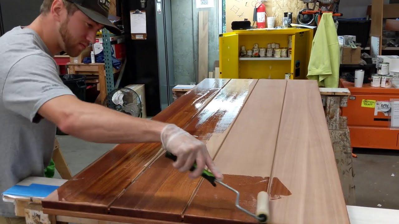 Osmo Wood Finish | Product Demonstration