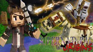 EVIL TOTEM SPIRIT! - Minecraft Supernatural Origins #21 (Werewolf Modded Roleplay)