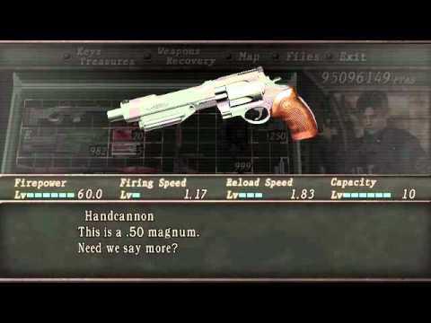Resident evil 4 - Como ganar armas secretas - YouTube