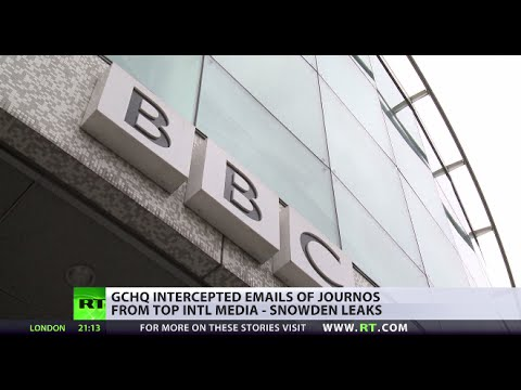 Snowden Leaks Reveal GCHQ Stores Journalists' Data