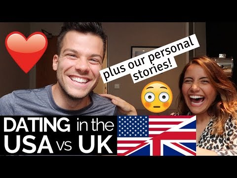 dating in usa vs uk