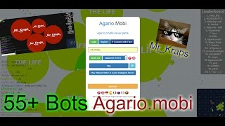 Agario.mobi Play 55+ Bots Free + Link