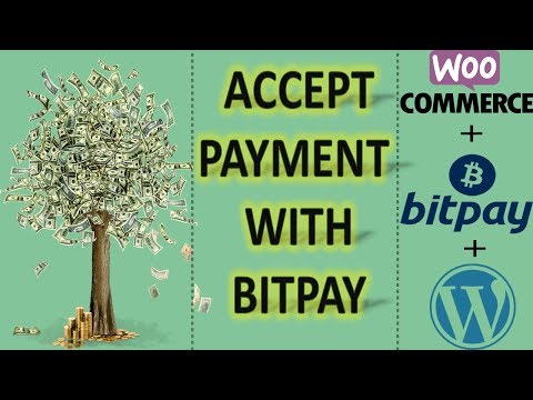 Accept Payment With Bitpay || Bitpay With Woocommerce || Accept Bitcoin For Your Ecommerce