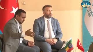 Etiyopya'da yayın yapan Harar TV de Türkiye Maarif Vakfı Faaliyetleri anlatıldı